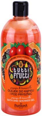 Farmona Tutti Frutti Papaja & Tamarillo gel de ducha y para baño