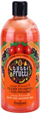 Farmona Tutti Frutti Papaja & Tamarillo gel de duche e banho
