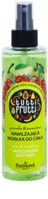 Farmona Tutti Frutti Pear & Cranberry Body Mist cu efect de hidratare