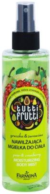 Farmona Tutti Frutti Pear & Cranberry meglica za telo z vlažilnim učinkom