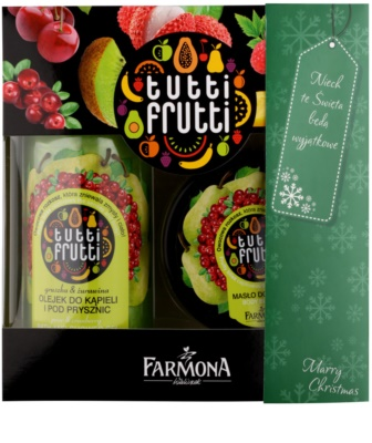 Farmona Tutti Frutti Pear & Cranberry coffret I.