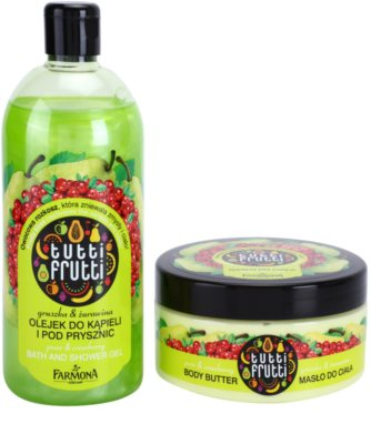 Farmona Tutti Frutti Pear & Cranberry coffret I. 1
