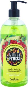 Farmona Tutti Frutti Pear & Cranberry folyékony szappan kézre