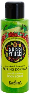 Farmona Tutti Frutti Pear & Cranberry peeling do ciała