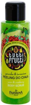 Farmona Tutti Frutti Pear & Cranberry telový peeling