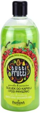 Farmona Tutti Frutti Pear & Cranberry sprchový a kúpeľový gél