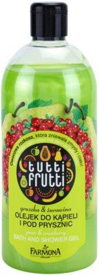 Farmona Tutti Frutti Pear & Cranberry żel do kąpieli i pod prysznic