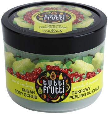 Farmona Tutti Frutti Pear & Cranberry peeling cukrowy do ciała