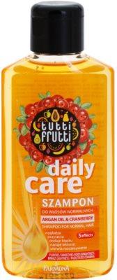 Farmona Tutti Frutti Argan Oil & Cranberry шампунь для нормального волосся