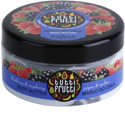 Farmona Tutti Frutti Blackberry & Raspberry manteca corporal