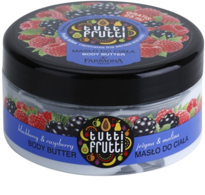 Farmona Tutti Frutti Blackberry & Raspberry masło do ciała