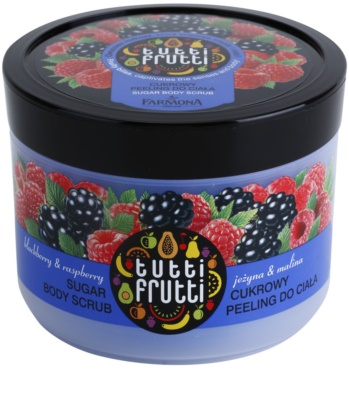 Farmona Tutti Frutti Blackberry & Raspberry cukrový peeling na tělo