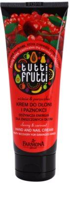 Farmona Tutti Frutti Cherry & Currant eine Crem zum Schutz von Händen und Nägeln