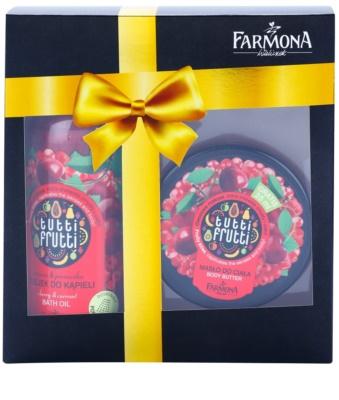 Farmona Tutti Frutti Cherry & Currant lote cosmético I.