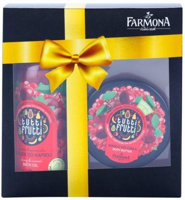 Farmona Tutti Frutti Cherry & Currant zestaw kosmetyków I.