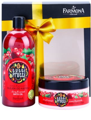 Farmona Tutti Frutti Cherry & Currant Kosmetik-Set  I. 2