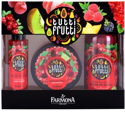 Farmona Tutti Frutti Cherry & Currant set cosmetice II.