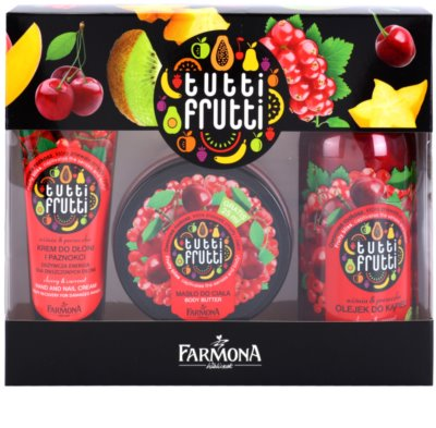 Farmona Tutti Frutti Cherry & Currant косметичний набір III.
