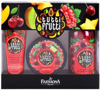 Farmona Tutti Frutti Cherry & Currant kozmetika szett III.