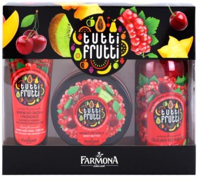 Farmona Tutti Frutti Cherry & Currant zestaw kosmetyków III.