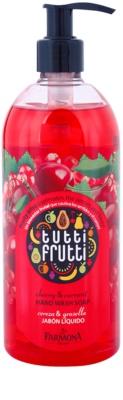 Farmona Tutti Frutti Cherry & Currant jabón líquido para manos