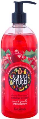 Farmona Tutti Frutti Cherry & Currant mydło w płynie do rąk