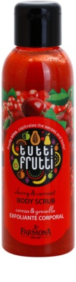 Farmona Tutti Frutti Cherry & Currant telový peeling