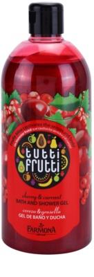 Farmona Tutti Frutti Cherry & Currant sprchový a kúpeľový gél