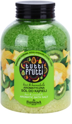 Farmona Tutti Frutti Kiwi & Carambola sales de baño