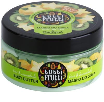 Farmona Tutti Frutti Kiwi & Carambola tělové máslo