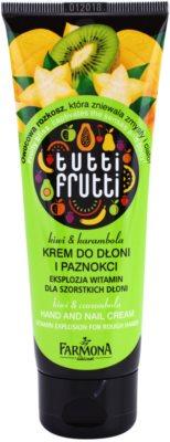 Farmona Tutti Frutti Kiwi & Carambola eine Crem zum Schutz von Händen und Nägeln