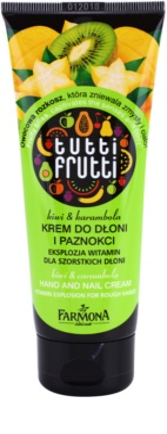 Farmona Tutti Frutti Kiwi & Carambola крем для рук та нігтів