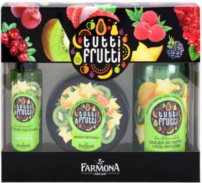 Farmona Tutti Frutti Kiwi & Carambola coffret I.