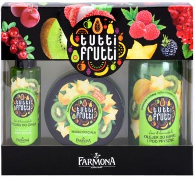 Farmona Tutti Frutti Kiwi & Carambola kosmetická sada I.