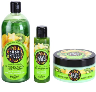 Farmona Tutti Frutti Kiwi & Carambola Kosmetik-Set  I. 1