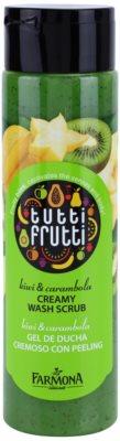 Farmona Tutti Frutti Kiwi & Carambola peeling cremoso de banho