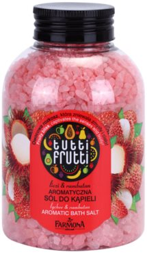 Farmona Tutti Frutti Lychee & Rambutan Badesalz
