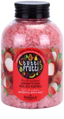 Farmona Tutti Frutti Lychee & Rambutan сіль для ванни