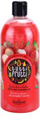 Farmona Tutti Frutti Lychee & Rambutan gel de ducha y para baño