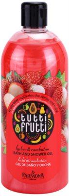 Farmona Tutti Frutti Lychee & Rambutan sprchový a kúpeľový gél