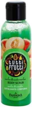 Farmona Tutti Frutti Melon & Watermelon exfoliant corp