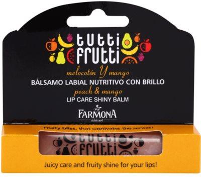 Farmona Tutti Frutti Peach & Mango Lippenbalsam 1