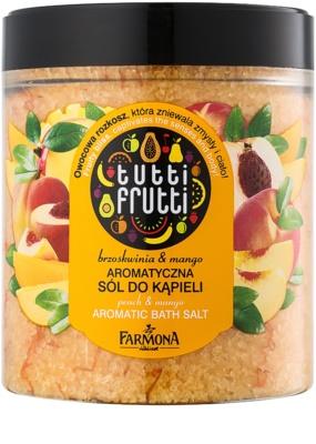 Farmona Tutti Frutti Peach & Mango sal de banho