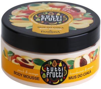 Farmona Tutti Frutti Peach & Mango Body-Schaum
