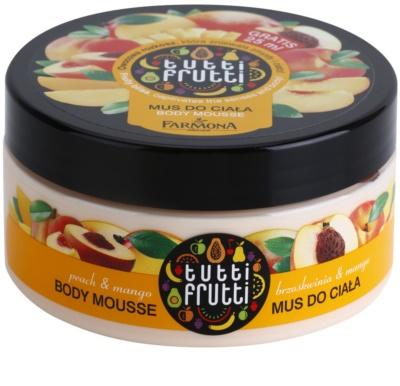 Farmona Tutti Frutti Peach & Mango пінка для тіла