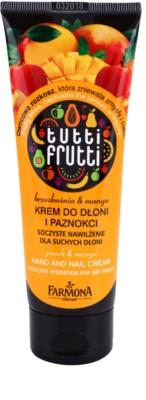 Farmona Tutti Frutti Peach & Mango eine Crem zum Schutz von Händen und Nägeln