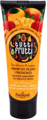 Farmona Tutti Frutti Peach & Mango obnovujúci krém na ruky