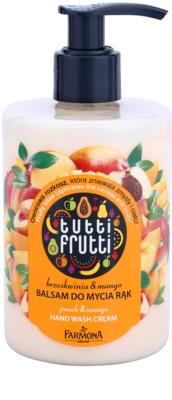 Farmona Tutti Frutti Peach & Mango bálsamo limpiador para manos