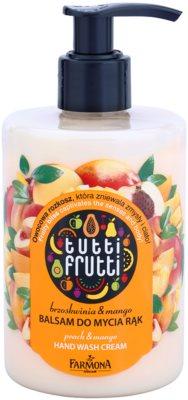 Farmona Tutti Frutti Peach & Mango balzam na umývanie na ruky