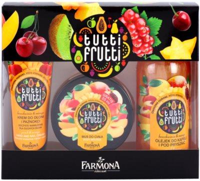Farmona Tutti Frutti Peach & Mango lote cosmético I.